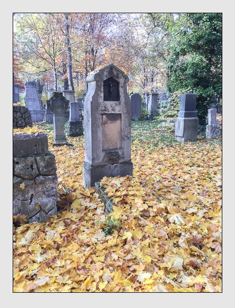 Grab der Familie Preis auf dem Alten Südfriedhof München (Oktober 2016)