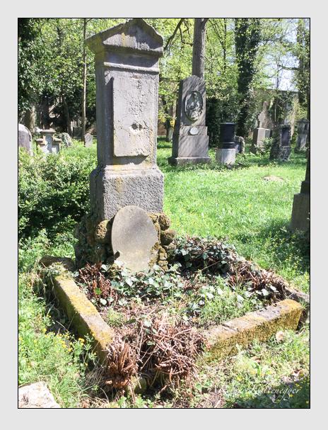 Grab der Familie Borst auf dem Alten Südfriedhof München (April 2018)