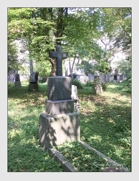 Grab der Familien Freundorfer & Streicher auf dem Alten Südfriedhof München (August 2018)