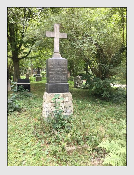 Grab der Familien Rauscher & Schöffel auf dem Alten Südfriedhof München (August 2018)
