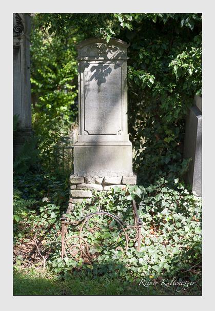 Grab der Familie Stumpf auf dem Alten Südfriedhof München (August 2007)