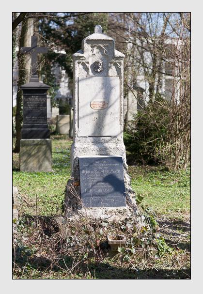 Grab der Familie Mayr auf dem Alten Südfriedhof München (März 2008)