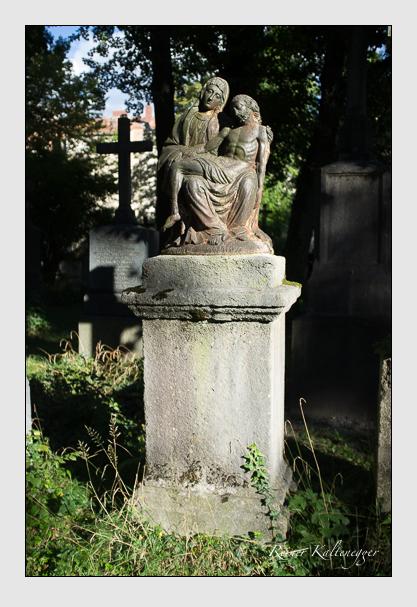Grab der Familie Hautmann auf dem Alten Südfriedhof München (Oktober 2012)