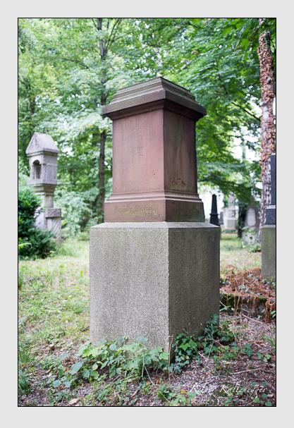 Grab der Familie Michal auf dem Alten Südfriedhof München (August 2013)