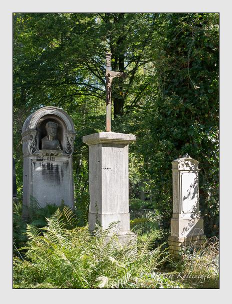 Grab der Familie Gautsch auf dem Alten Südfriedhof München (September 2014)