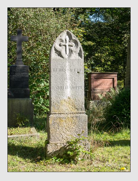 Grab der Familie Hoppe auf dem Alten Südfriedhof München (September 2014)