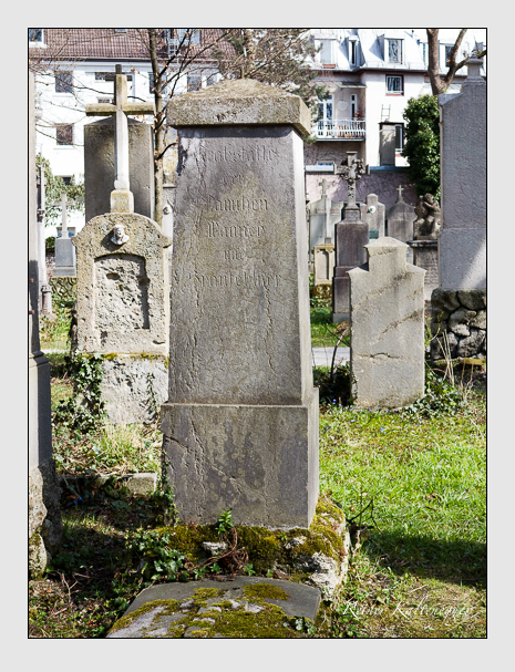 Grab der Familien Wanney · Spanfehlner auf dem Alten Südfriedhof München (April 2015)