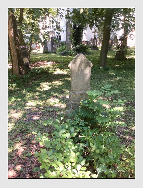 Grab der Familie Böck auf dem Alten Südfriedhof München (Juli 2016)
