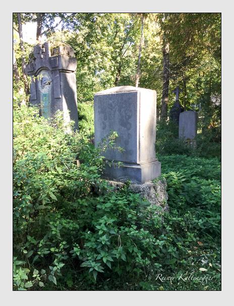Grab der Familie Mössl auf dem Alten Südfriedhof München (Oktober 2016)