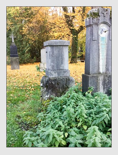 Grab der Familie Hagn auf dem Alten Südfriedhof München (Oktober 2016)