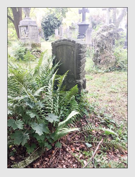 Grab der Familien Kunz & Schmidt & Strobl auf dem Alten Südfriedhof München (September 2017)