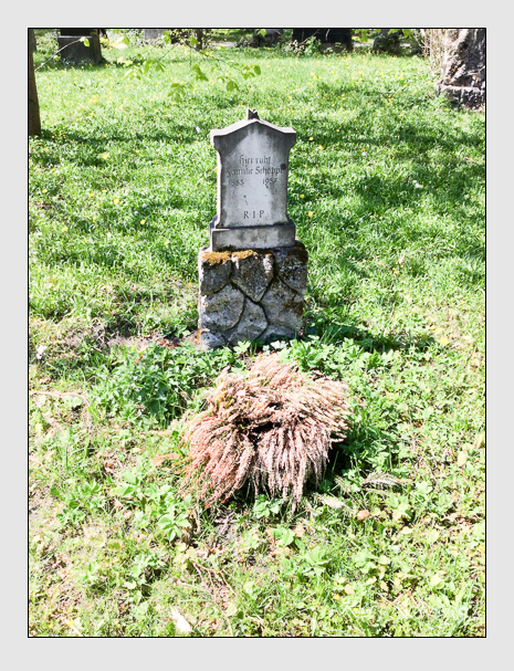 Grab der Familien Schöppl · Weber auf dem Alten Südfriedhof München (Oktober 2017)