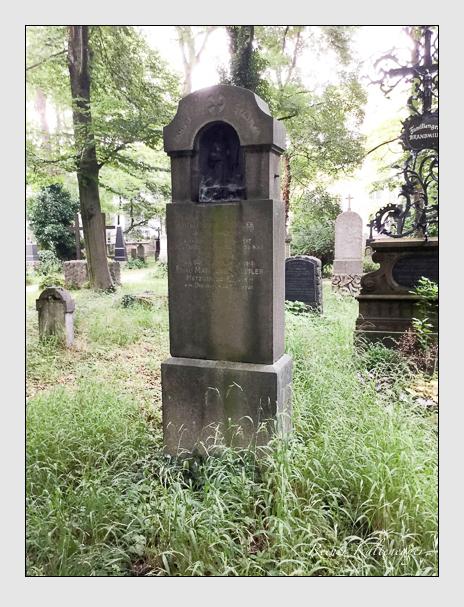 Grab der Familie Stadtler auf dem Alten Südfriedhof München (Mai 2018)