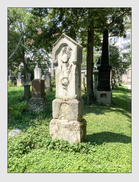 Grab der Familie Oswald auf dem Alten Südfriedhof München (August 2018)