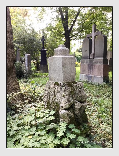 Grab der Familie Stigler auf dem Alten Südfriedhof München (September 2018)