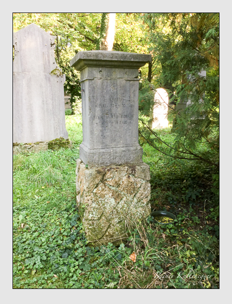 Grab der Familie Kothmüller auf dem Alten Südfriedhof München (September 2018)