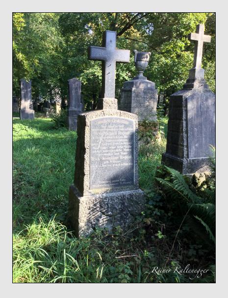Grab der Familie Regnat auf dem Alten Südfriedhof München (September 2018)