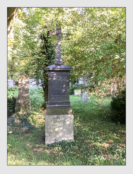 Grab der Familien Berghamer & Schödtl auf dem Alten Südfriedhof München (September 2018)