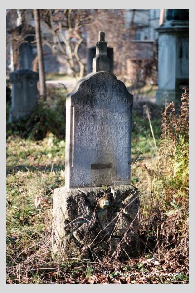 Grab der Familien Ostler · Parzefal auf dem Alten Südfriedhof München (Dezember 2020)