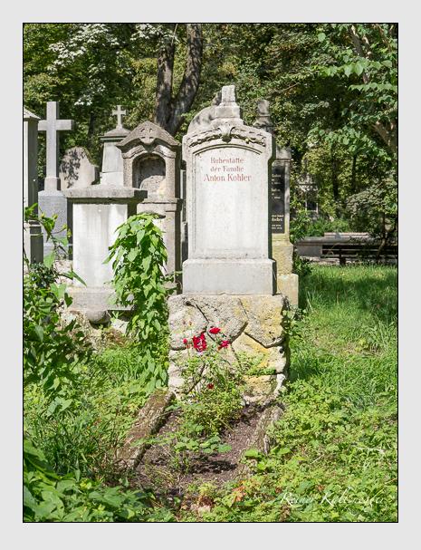 Grab der Familie Kohler auf dem Alten Südfriedhof München (September 2014)