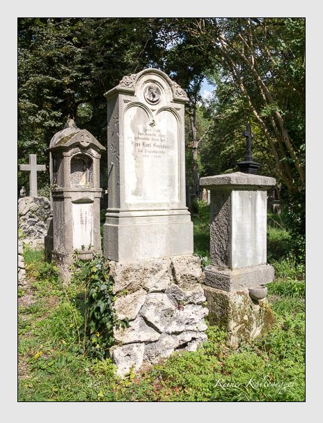 Grab der Familie Grandauer auf dem Alten Südfriedhof München (September 2014)