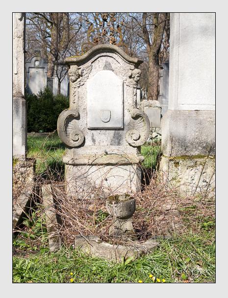 Grab der Familie Blumenthal auf dem Alten Südfriedhof München (April 2015)