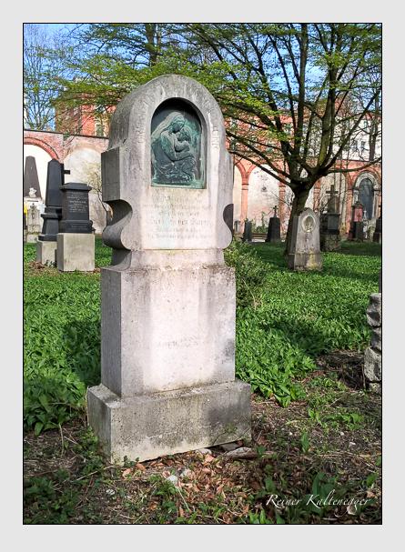 Grab der Familie Storr auf dem Alten Südfriedhof München (April 2016)