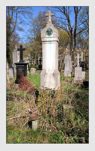 Grab der Familie Leib auf dem Alten Südfriedhof München (April 2016)