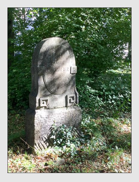 Grab der Familie Furtmeier auf dem Alten Südfriedhof München (Oktober 2016)