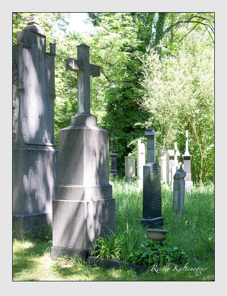 Grab der Familie Gutleben auf dem Alten Südfriedhof München (Mai 2017)