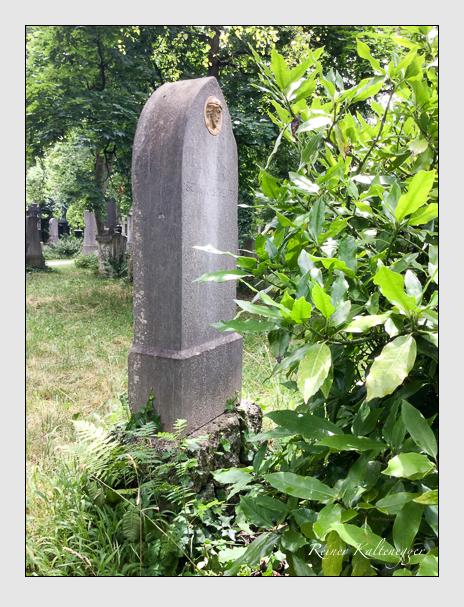 Grab der Familien Scheuer & Schick auf dem Alten Südfriedhof München (Juli 2017)