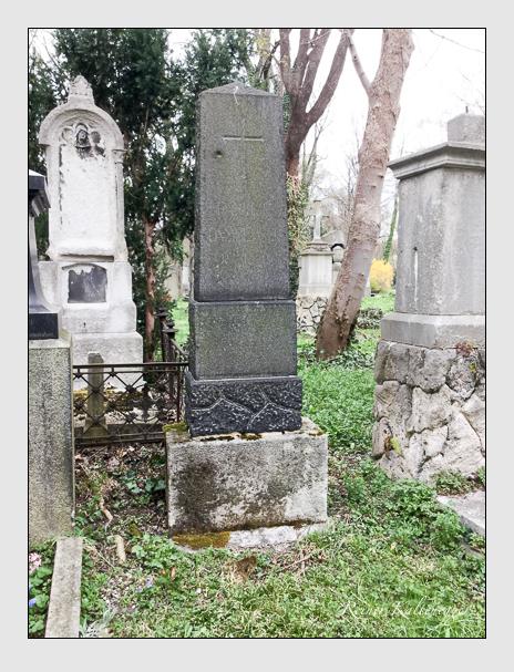 Grab der Familien Damberger & Staudinger auf dem Alten Südfriedhof München (April 2018)