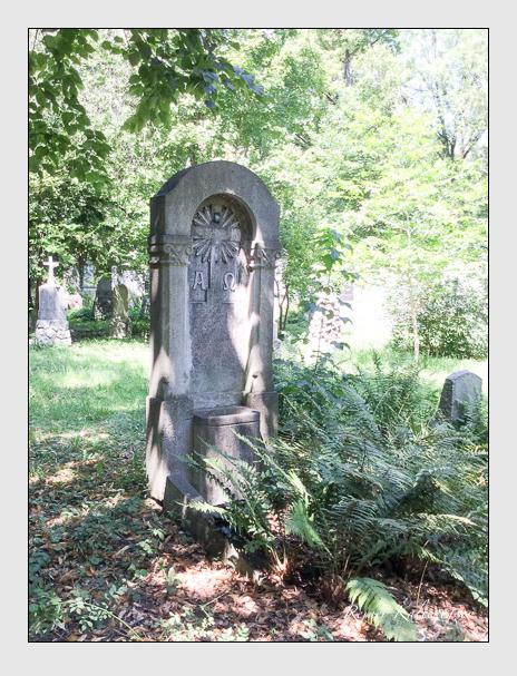 Grab der Familie Trenner auf dem Alten Südfriedhof München (Juli 2018)