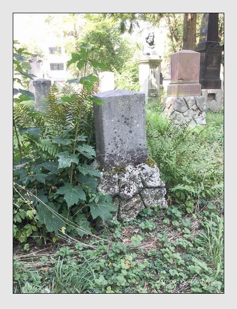 Grab der Familie Grünwalder auf dem Alten Südfriedhof München (August 2018)