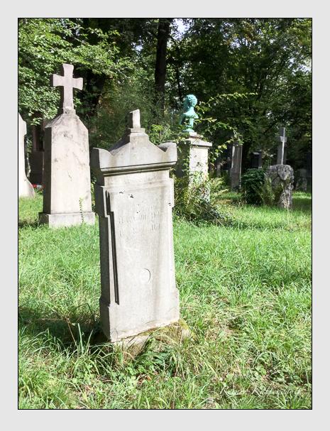 Grab der Familie Huber auf dem Alten Südfriedhof München (September 2018)