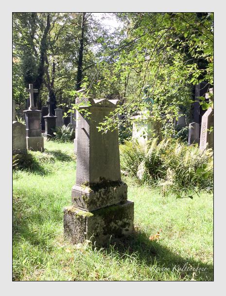Grab der Familien Michl · Schuster auf dem Alten Südfriedhof München (September 2018)