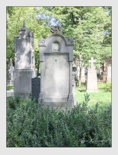 Grab der Familie Löhr auf dem Alten Südfriedhof München (September 2018)