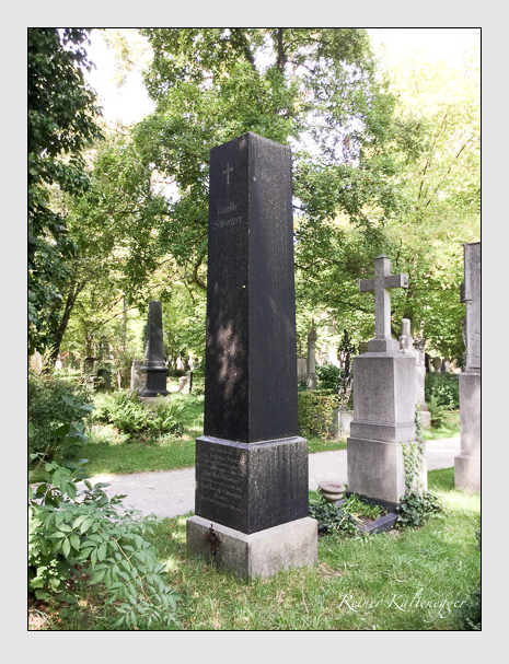 Grab der Familie Schweizer auf dem Alten Südfriedhof München (September 2018)