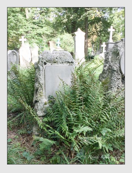 Grab der Familie Eschenbecher auf dem Alten Südfriedhof München (September 2018)