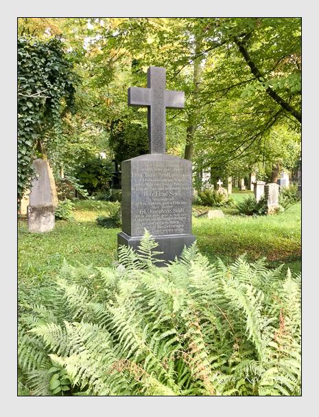 Grab der Familien Belzner & Seidl auf dem Alten Südfriedhof München (September 2018)