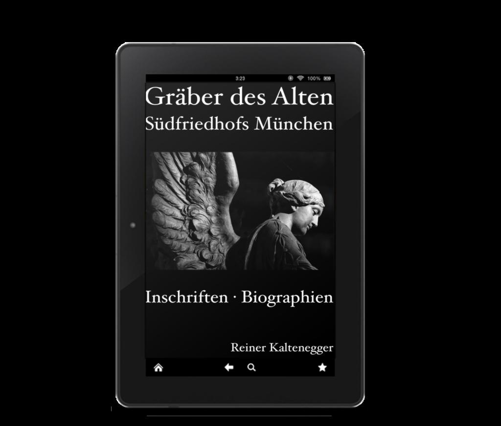 Titelbild des Friedhofsführers zum Alten Südfriedhof München