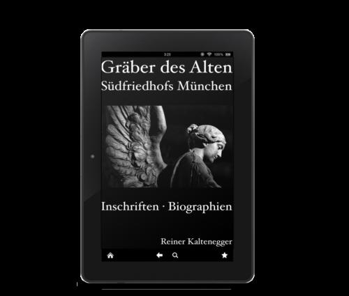 Das eBook zum Alten Südfriedhof München