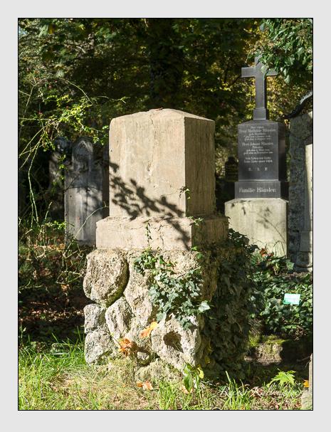 Grab der Familie Tauber auf dem Alten Südfriedhof München (Oktober 2014)