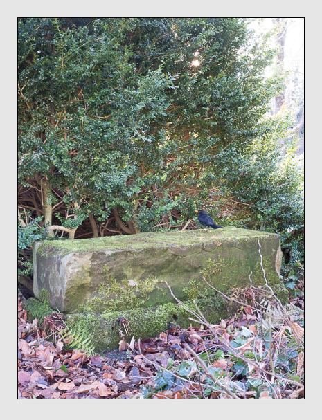 Grab der Familien Denzel & Fensterer auf dem Alten Südfriedhof München (Dezember 2015)