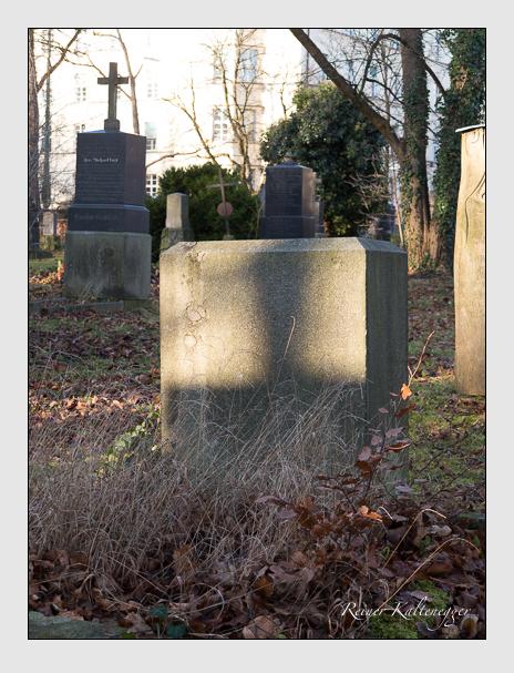Grab der Familie Deichstetter auf dem Alten Südfriedhof München (Dezember 2015)