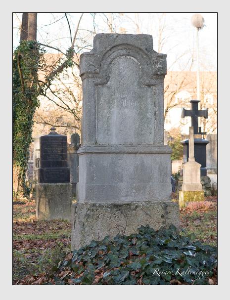 Grab der Familie Gabler auf dem Alten Südfriedhof München (Dezember 2015)
