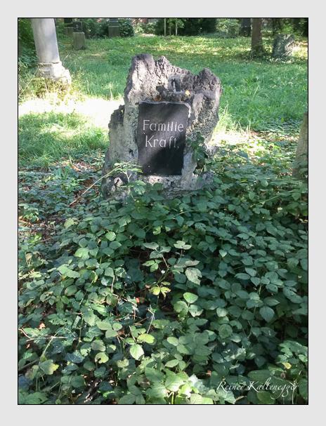 Grab der Familie Kraft auf dem Alten Südfriedhof München (Oktober 2016)