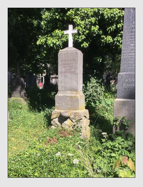 Grab der Familie Zetlmayer auf dem Alten Südfriedhof München (Oktober 2017)