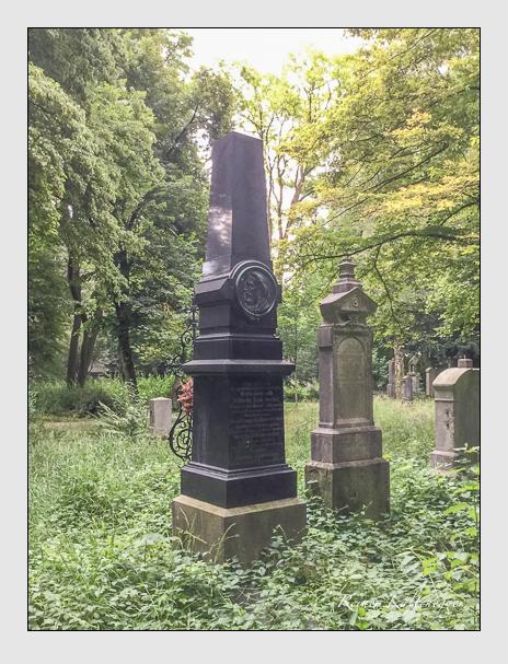 Grab der Familie Kammerecker auf dem Alten Südfriedhof München (Mai 2018)