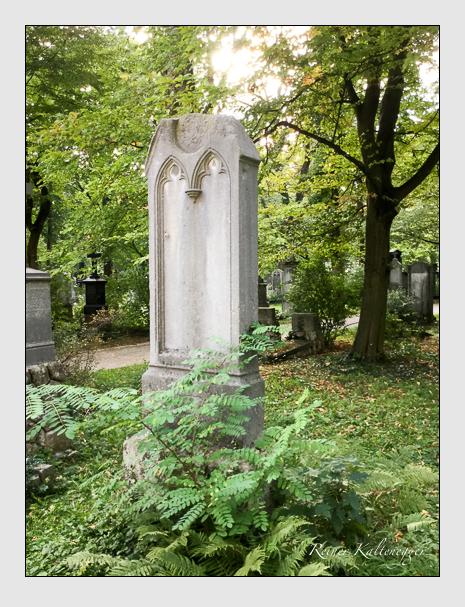 Grab der Familie Schweykart auf dem Alten Südfriedhof München (September 2018)